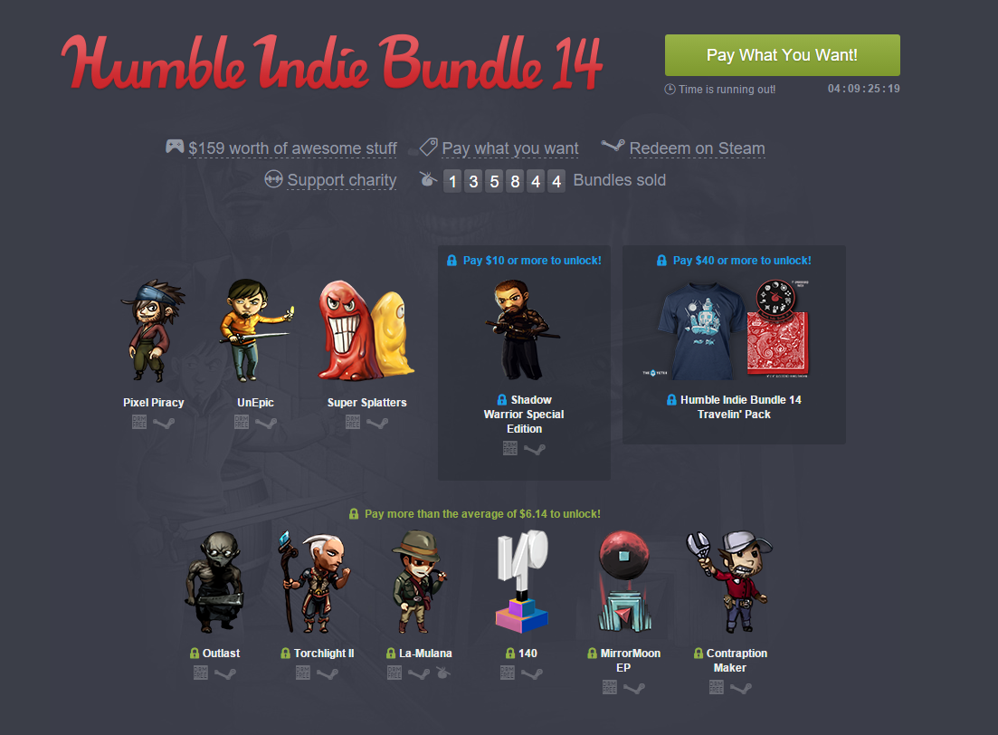 Humble Bundle Example